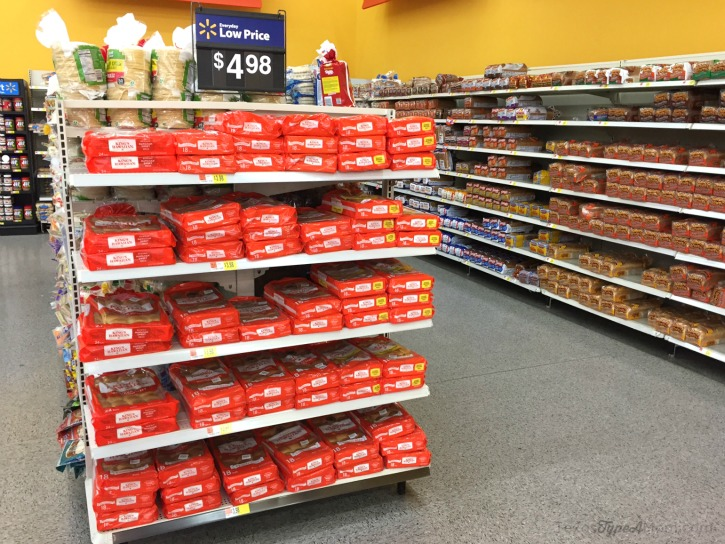 King's Hawaiian Sweet Rolls at Walmart