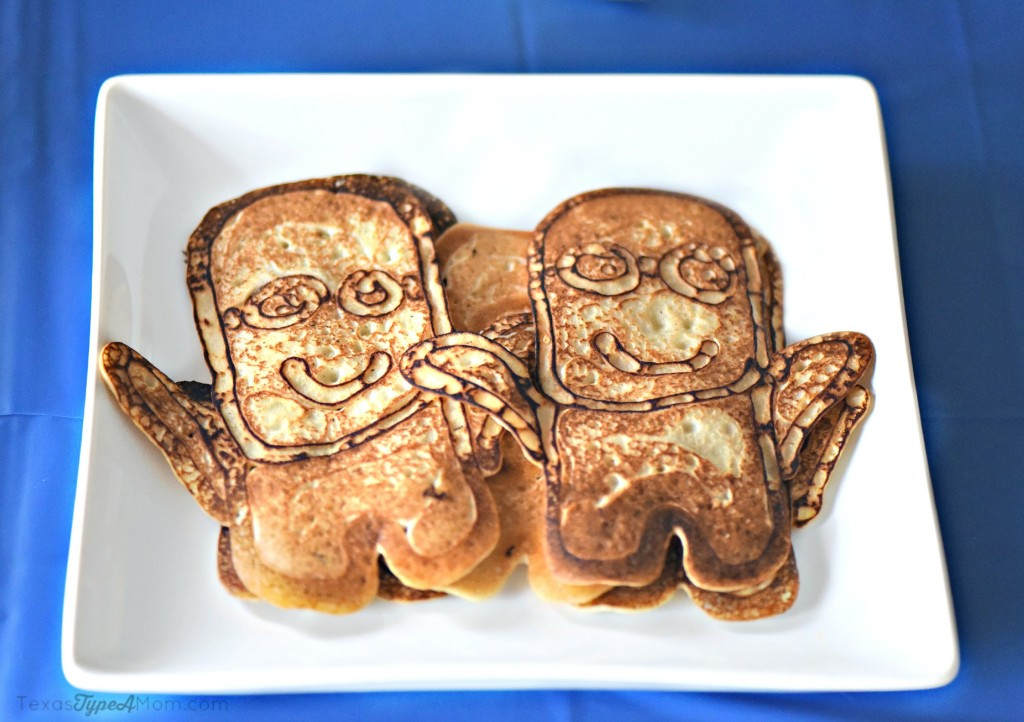 Minions Birthday Party Breakfast - plus Minions pancakes recipe
