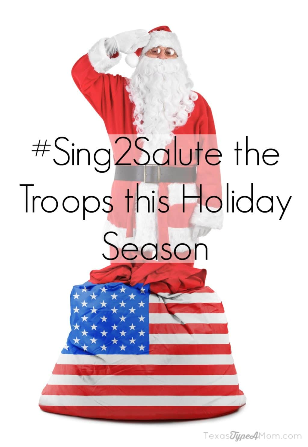 #Sing2Salute the Troops this Holiday Season