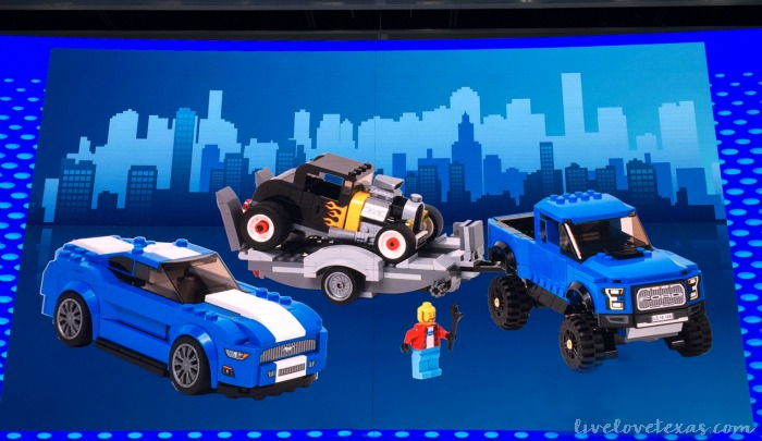 Ford Legos at NAIAS 2016