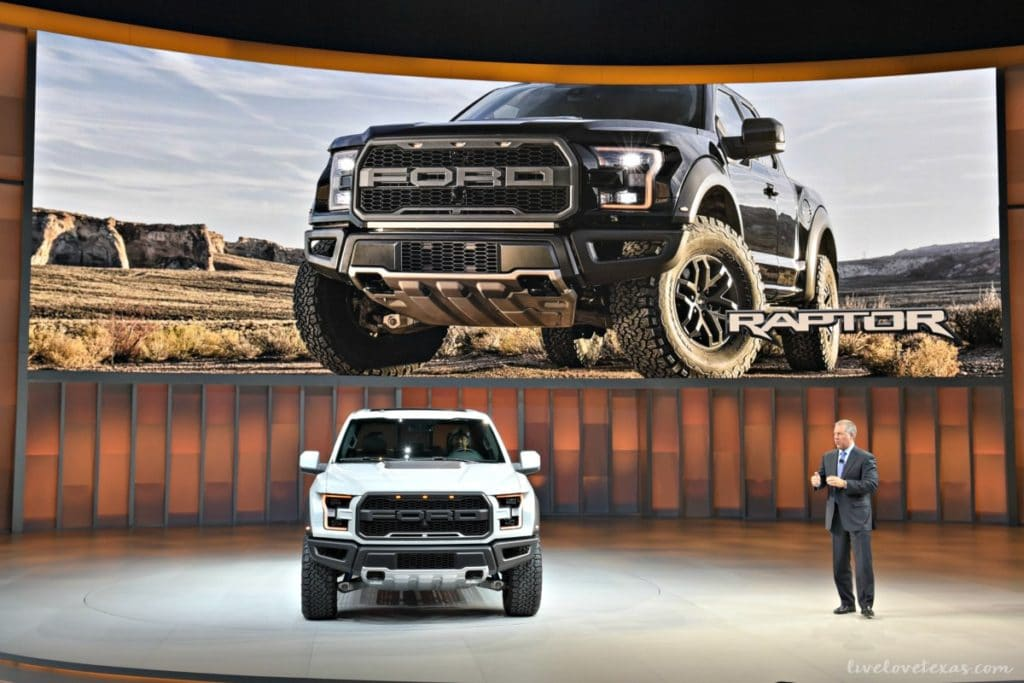 Ford NAIAS 2017 Raptor SuperCrew