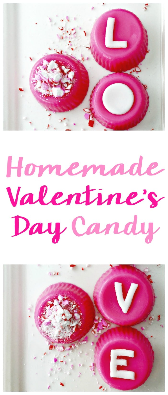Cute Homemade Valentine's Day Candy recipe. This easy DIY dessert is something kids can give out or even adults!