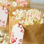 This super easy dessert is the perfect combination of salty and sweet. Plus, this Valentine Popcorn recipe is so cute and catching for any Valentine's Day party!