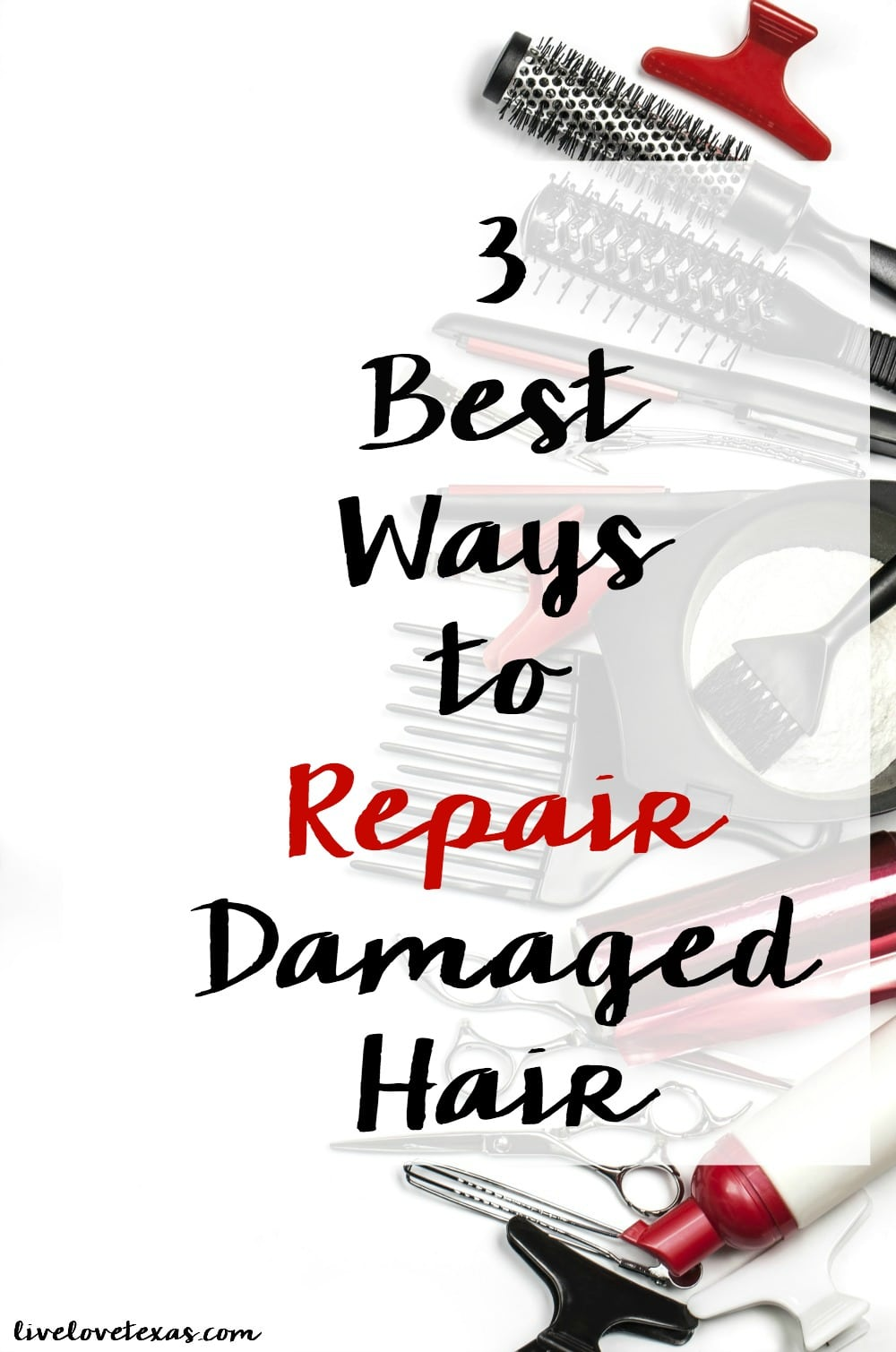 3 Best Ways to Repair Damaged Hair