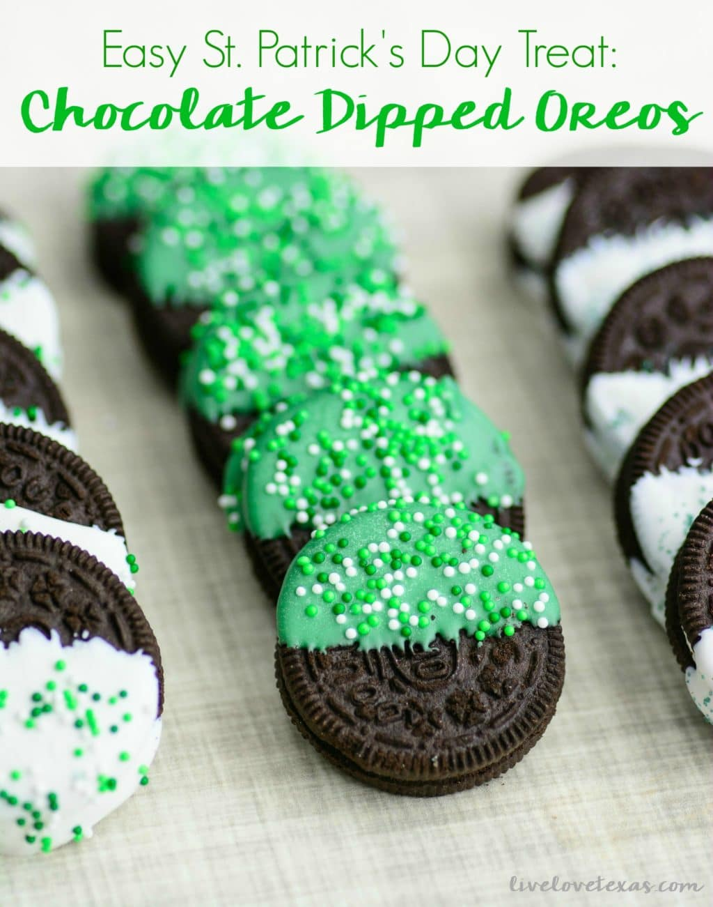 Looking for a last minute, yet easy St. Patrick's <a href=