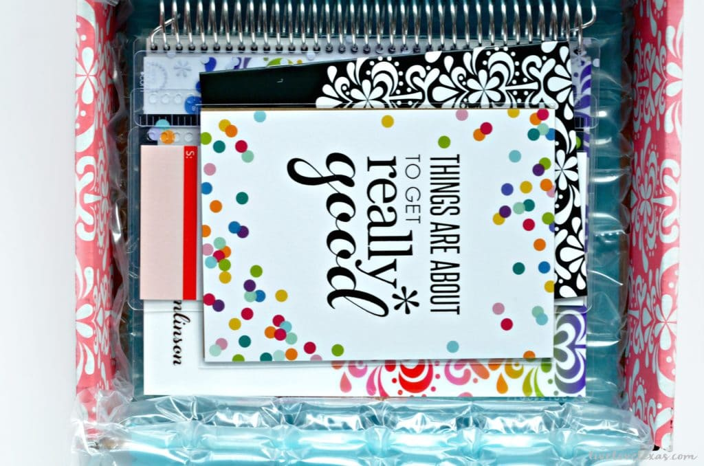 Erin Condren Life Planner Unpackaging
