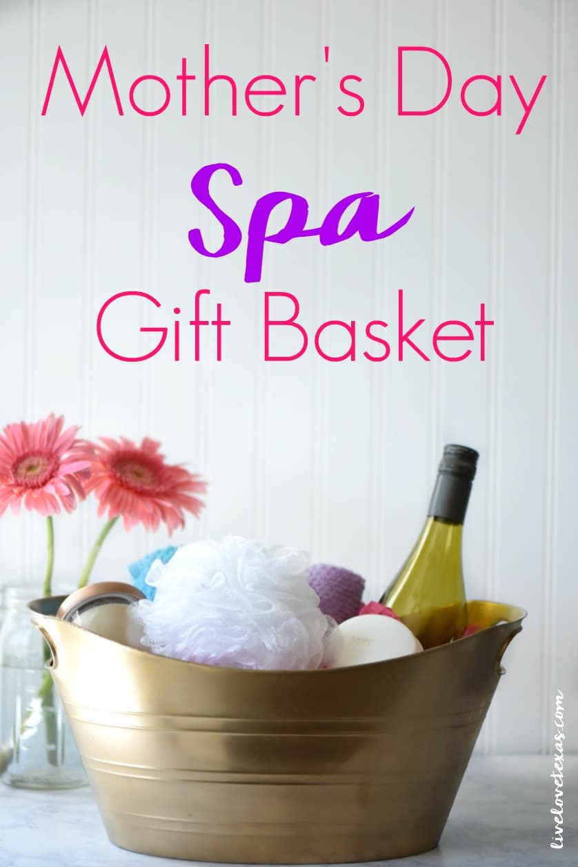 What do you get the mom that has everything? This Mother's Day Spa Gift Basket, of course! It's easy, thoughtful, and practical!