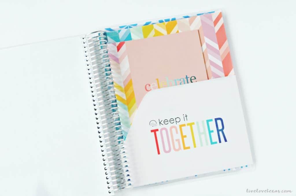 Erin Condren Life Planner Review Inside Folder