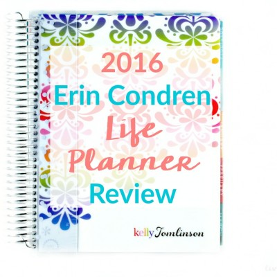 Revealing the 2016 Erin Condren Life Planner Review