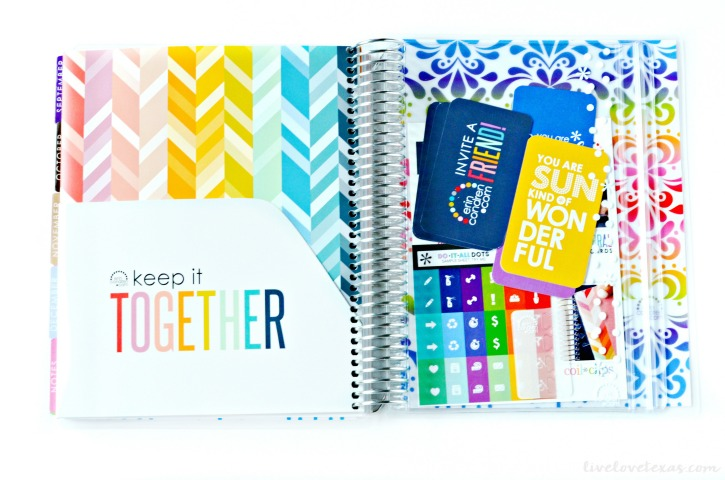 Erin Condren Life Planner Review Back Cover