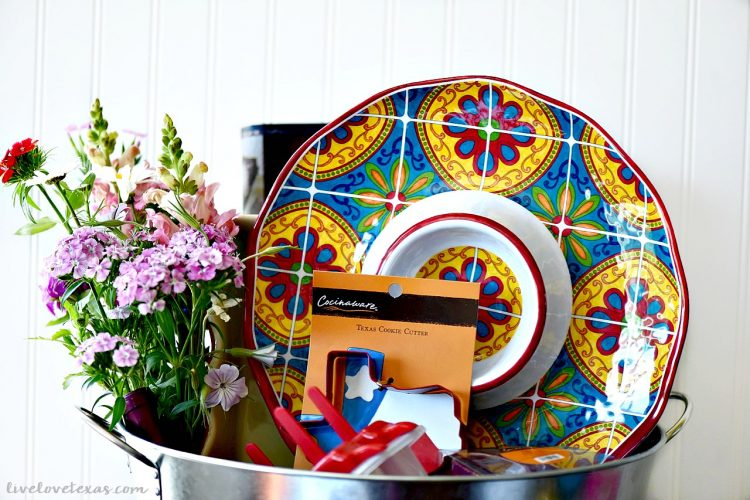 Texas Summer Entertaining Gift Basket for Mom + (2) $50 H-E-B Gift Card Giveaway