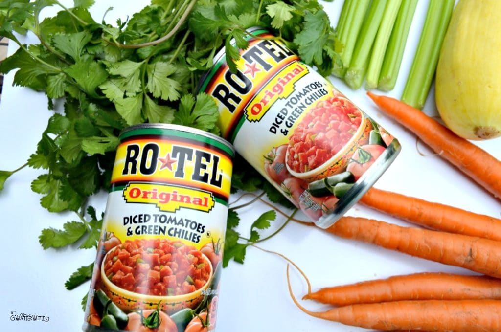 RO*TEL is the perfect Mexican recipe starter including this family favorite, gluten free taco soup with hidden veggies!