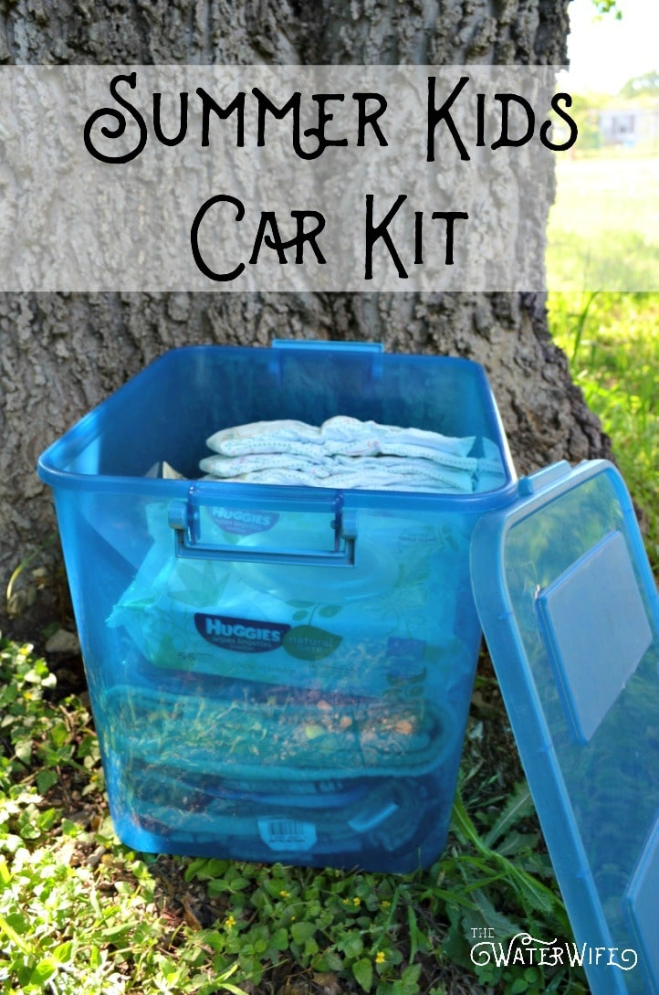 Get the very best ideas and tips for the perfect summer kids car kit so you can be prepared for anything this summer!