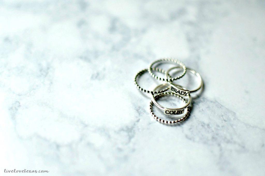 Handmade Monogrammed Silver Rings Heidi J Hale Review