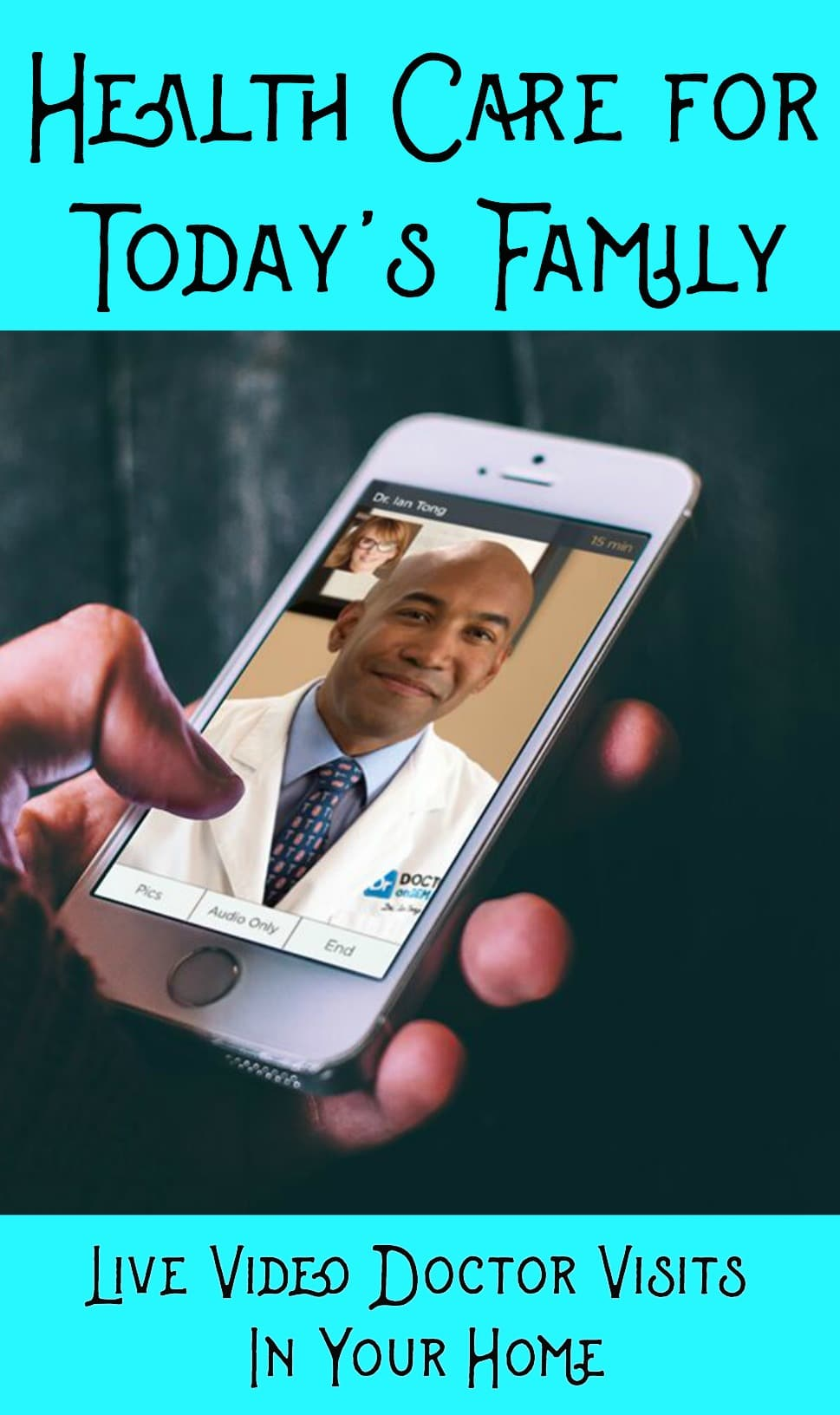 Health care for today's family is better health care so you feel better. You will not believe how simple and affordable live video doctor visits can be!