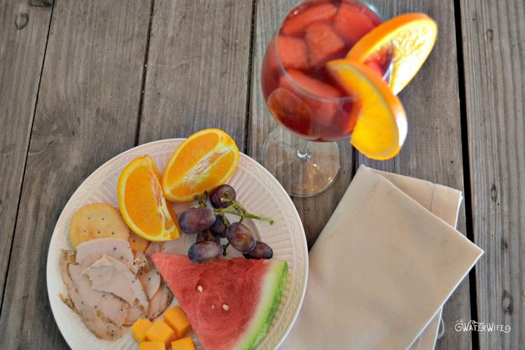 [ad] Summer Entertaining + Easy Red Sangria Recipe