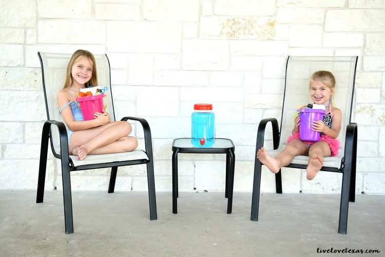 Summer Half Birthday Party Ideas + Homemade Bubbles Recipe with Laundry Detergent