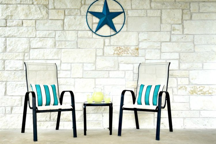 How to Spray-Paint Metal Patio Furniture