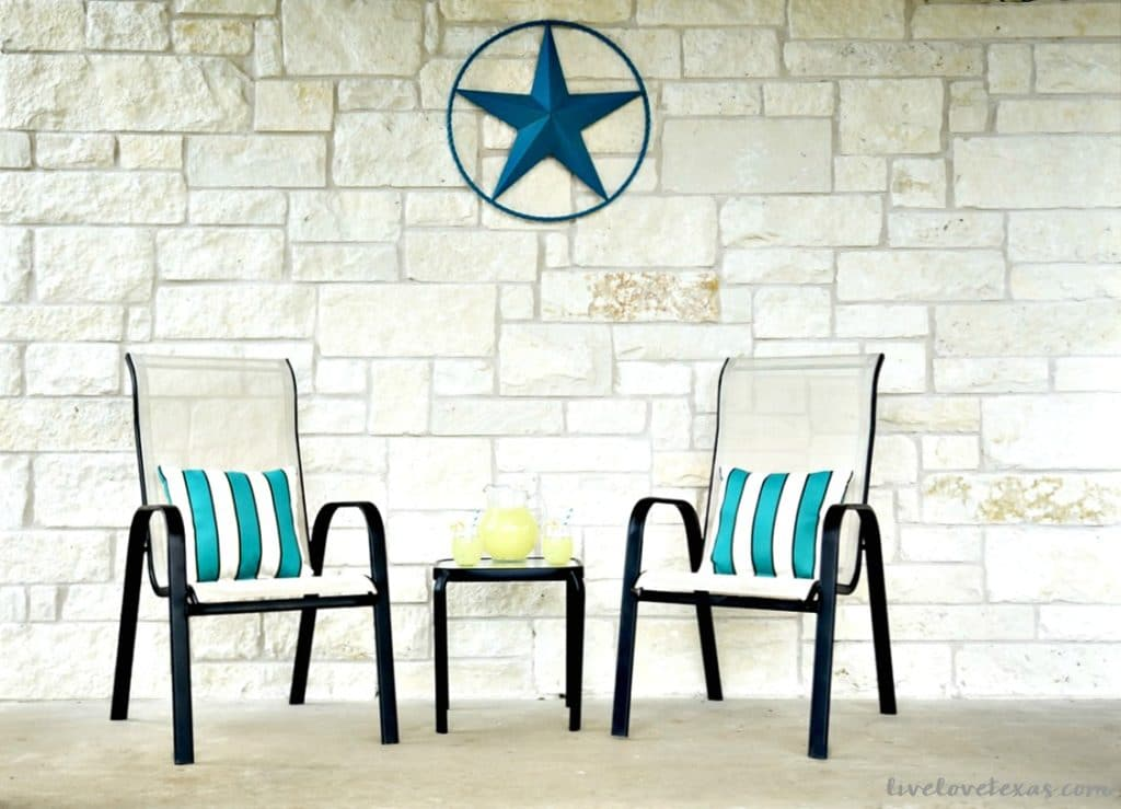 How to Spray Paint Metal Patio Furniture Hero
