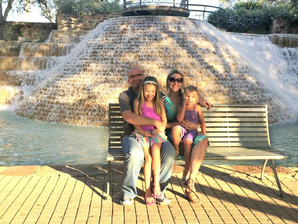 San Antonio Family Picture Tower of the Americas