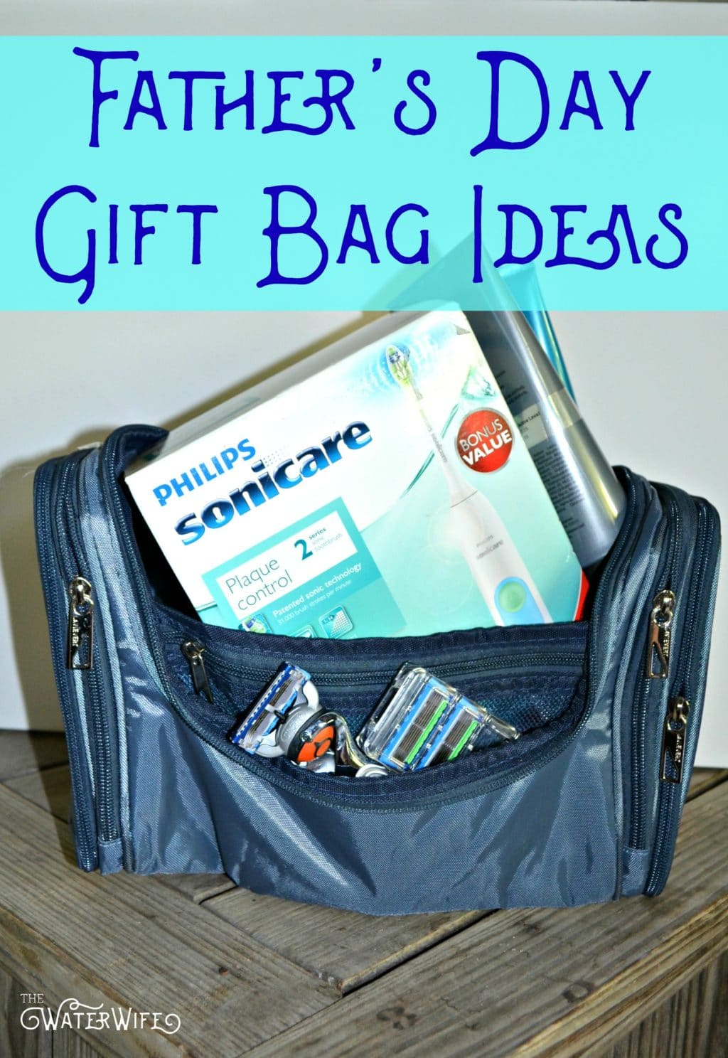 The perfect Father's Day gift bag ideas!! Treat dad right this summer!