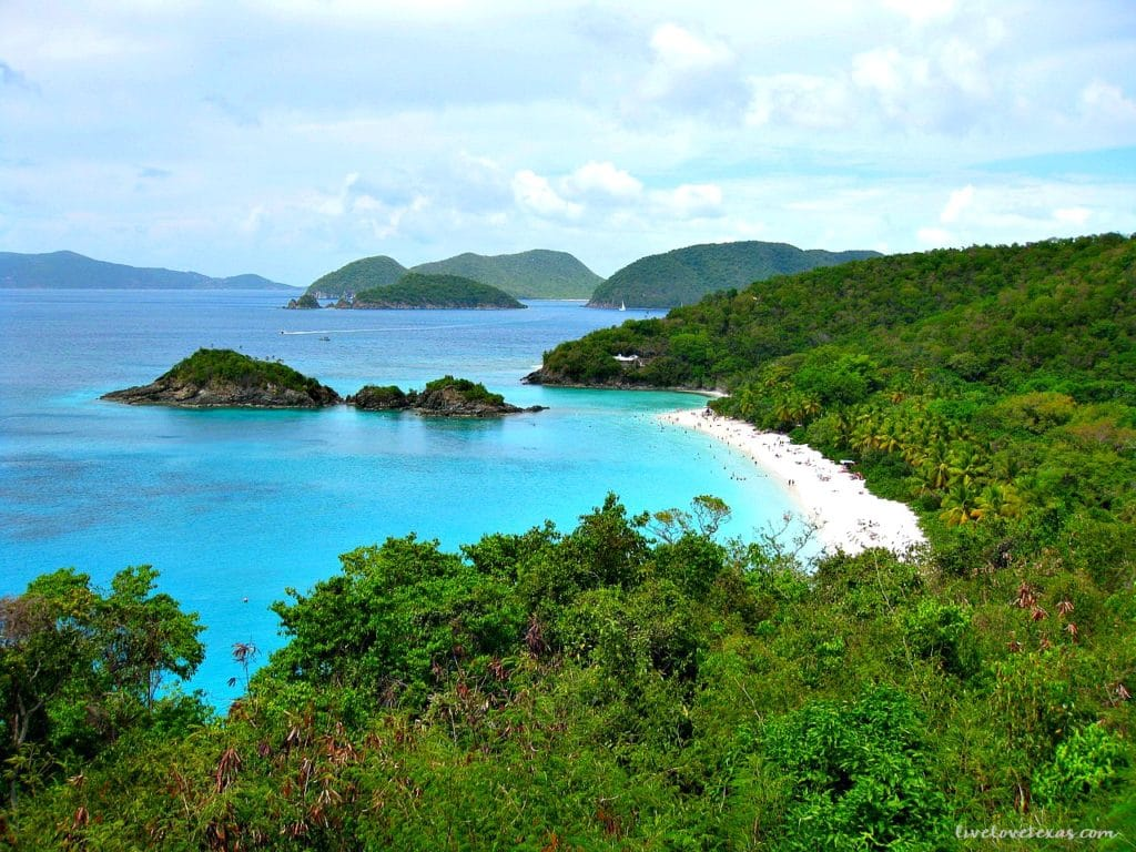 St John Trunk Bay Beach