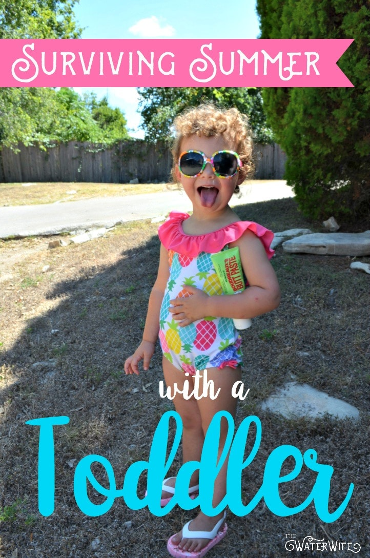 The best tips and everything you need to protect your toddler and survive the brutal summer heat with your little one!