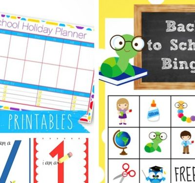 20 Free Back to School Printables