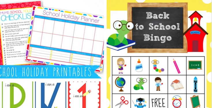 Get organized and ready for the hectic schedule of the season with these 20 Free Back to School Printables and Activities!
