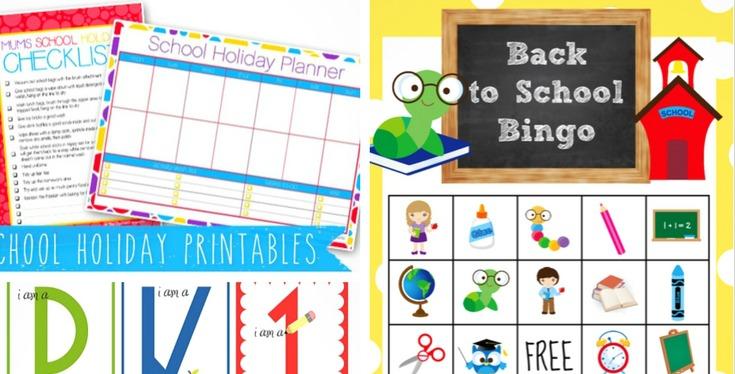 20 Free Back to School Printables