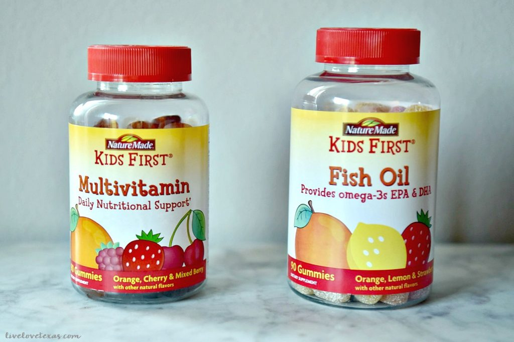 Kids multivitamin gummies review for back to school for Nature made fish oil review