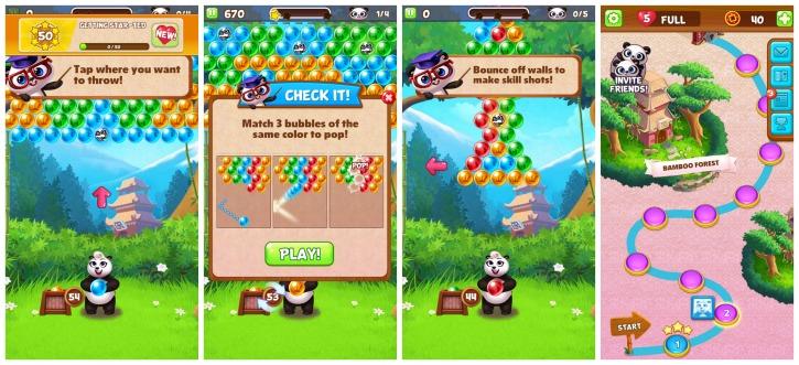 Panda Pop Bubble Puzzle Game App Review 1