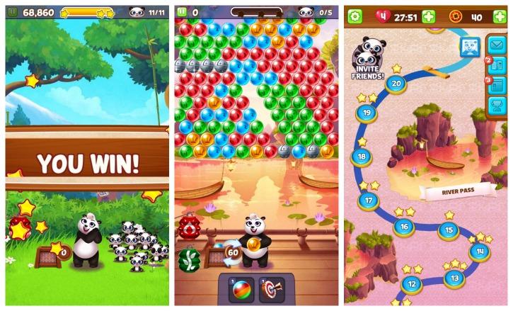 Panda Pop Bubble Puzzle Game App Review 2