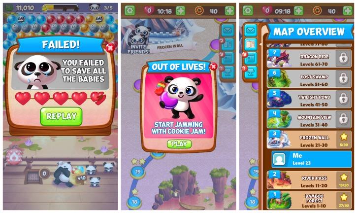 Panda Pop Bubble Puzzle Game App Review 3