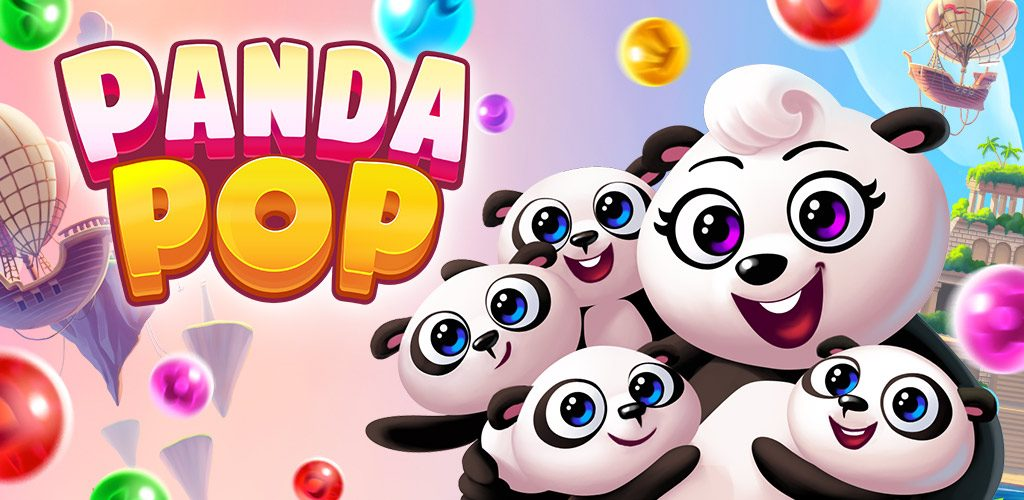 Panda Pop Bubble Puzzle Game App Review Logo