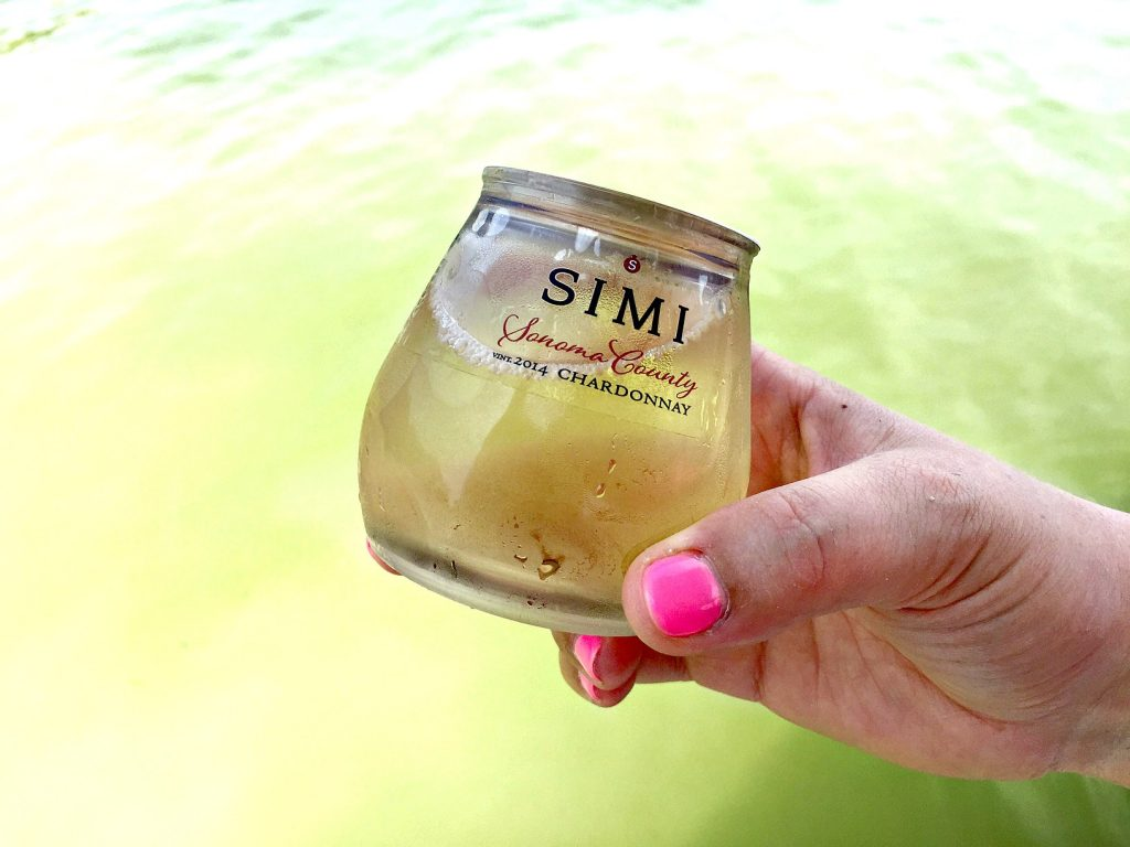Simi Wine on the Boat