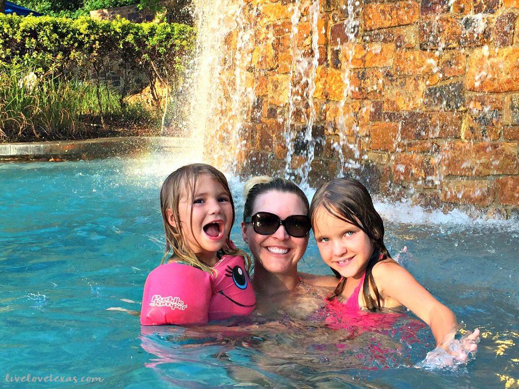 The Woodlands Resort Waterfall