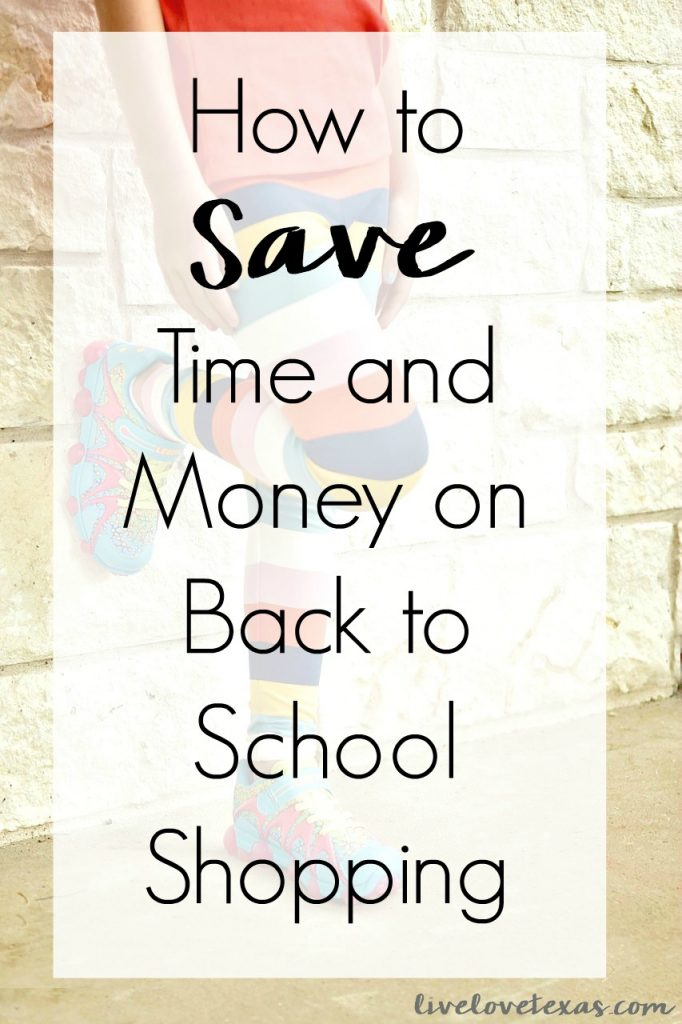 How to Save Time and Money on Back to School Shopping