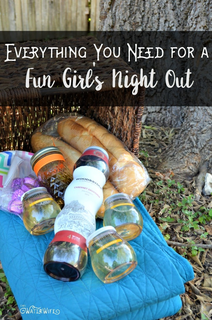 Everything you need for a fun girl's night out! Start planning yours today!