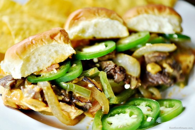 Touchdown Worthy Spicy Texican Cheesesteak Recipe