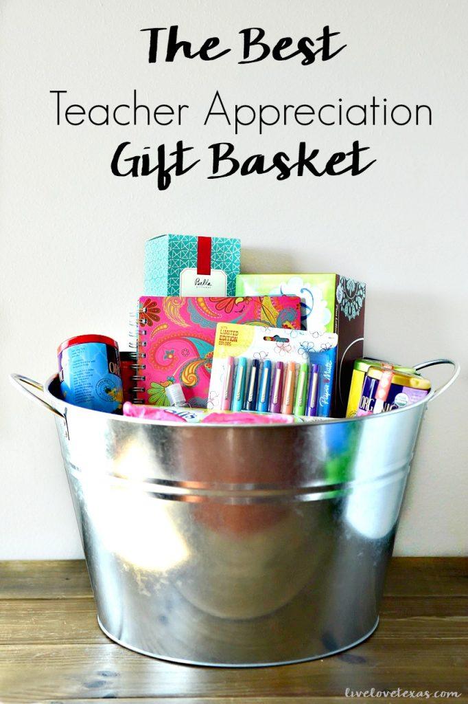 Best Teacher Appreication Gift Basket + $500 Sam's Club Giveaway