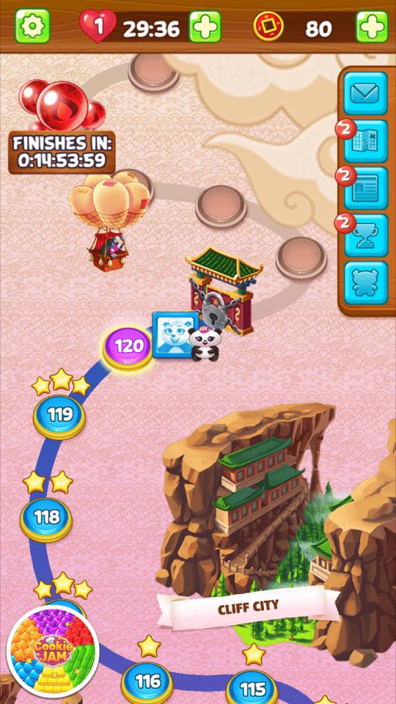 Panda Pop Level 120