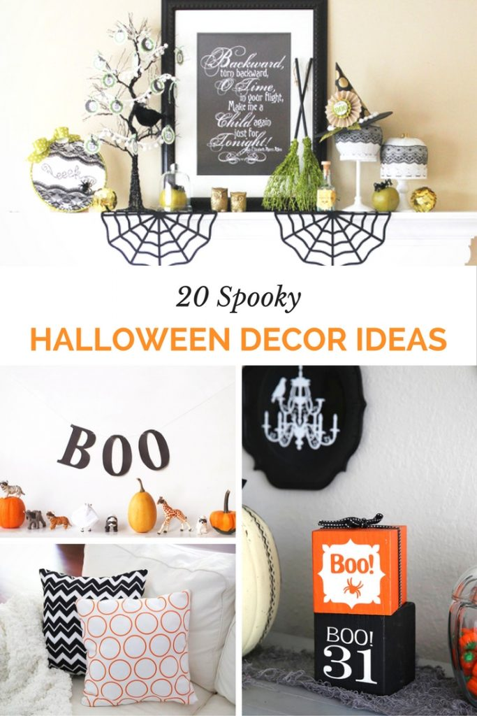 Get creative and festive for Halloween with these 20 Spooky Halloween Decor Ideas!