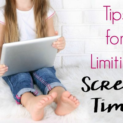3 Tips for Limiting Screen Time