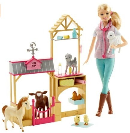 barbie-careers-farm-doll-set