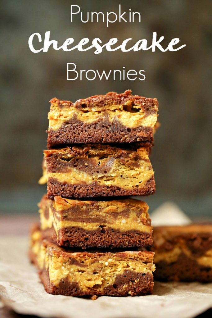 Three of your favorite dessert recipes collide in an explosion of harmonious flavors in this pumpkin cheesecake brownies recipe! #livelovetexas #pumpkin #pumpkinrecipes #pumpkindesserts #pumpkinrecipe #pumpkinbrownies #cheesecake #brownies #recipe #recipes #falldesserts #fallfood #thanksgivingrecipe #thanksgivingdessert #dessertrecipe #desserts