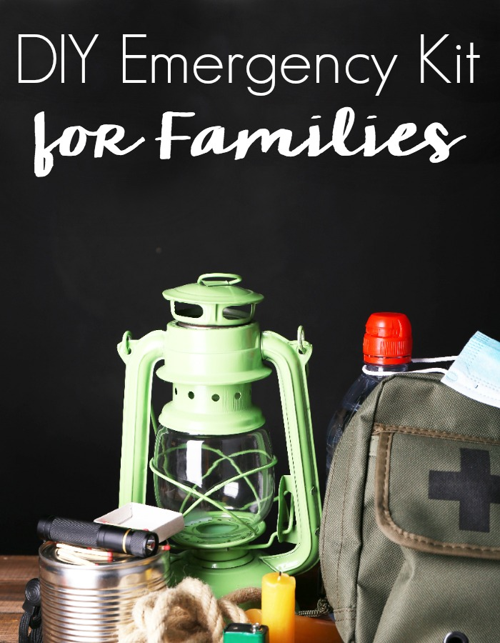 Don't be caught unprepared. Get ready for the unexpected with this DIY Emergency Kit for Families and Pets!