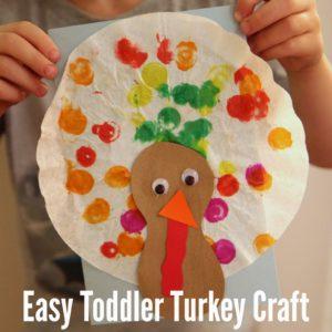 Easy Toddler Thanksgiving Craft