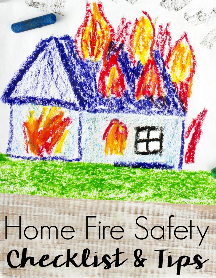 Home fire checklist safety tips for families and pet owners for Fire prevention tips for home
