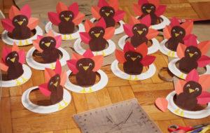 Thanksgiving Craft Turkey Hats